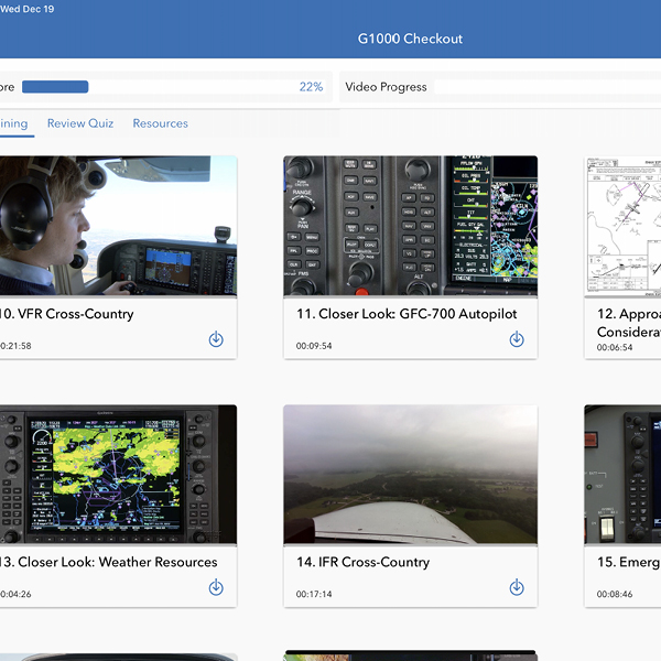 5. Sporty's Pilot Training app continues to grow and add new courses.