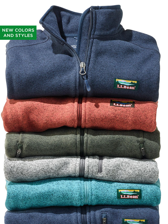 You Only Need One (More). Premium fabric combines sweater style with fleece comfort – at an exceptional value. It's so cozy, our customers say they always come back for more.