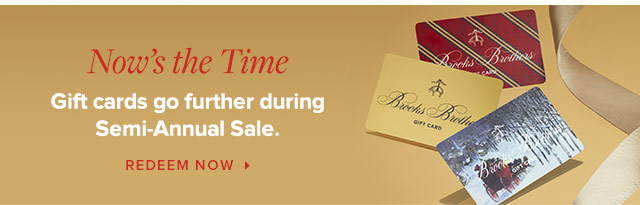 GIFT CARDS GO FURTHER DURING SEMI-ANNUAL SALE