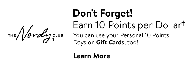 Use Your Personal Double Points Day(s) - Learn More