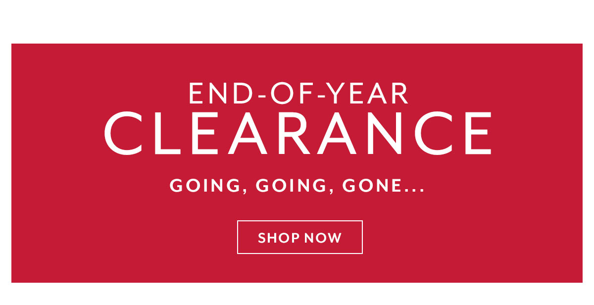 End of Year Clearance
