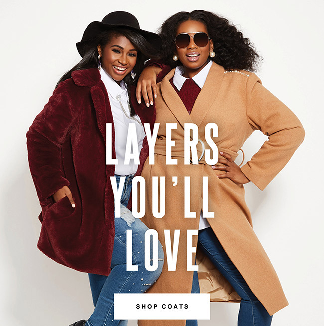 Layers you will love - Shop Now