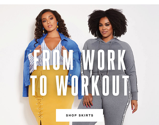 From work to workout - Shop Skirts