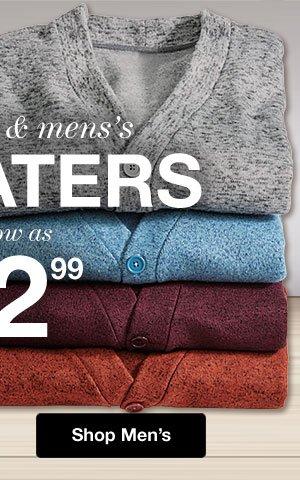 Shop Men's Sweaters!