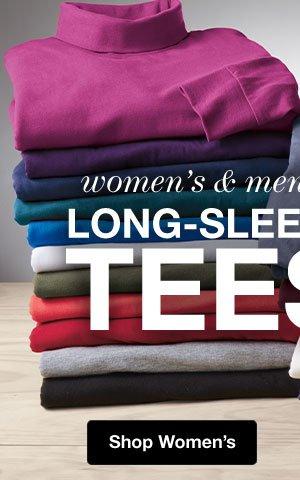 Shop Women's Long-Sleeve!
