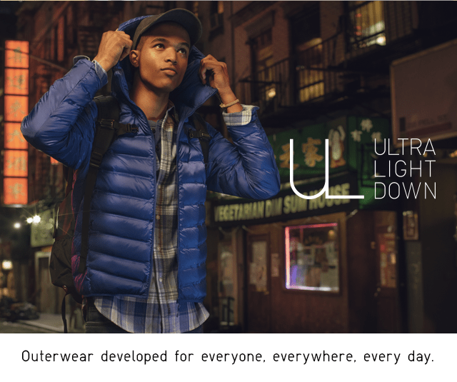 OUTERWEAR DEVELPOED FOR EVERYONE, EVERYWHERE, EVERY DAY.