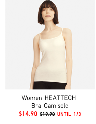 WOMEN HEATTECH CAMISOLE $9.90