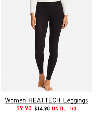 WOMEN HEATTECH LEGGINGS $9.90