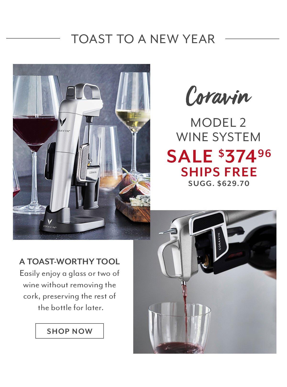 Coravin Model 2 Elite Pro Wine System Bundle