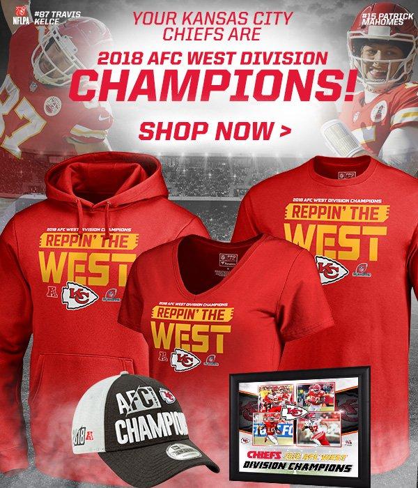 wholesale dealer 646b7 3e716 Kansas City Chiefs: Chiefs are THE 2018 AFC West Division ...