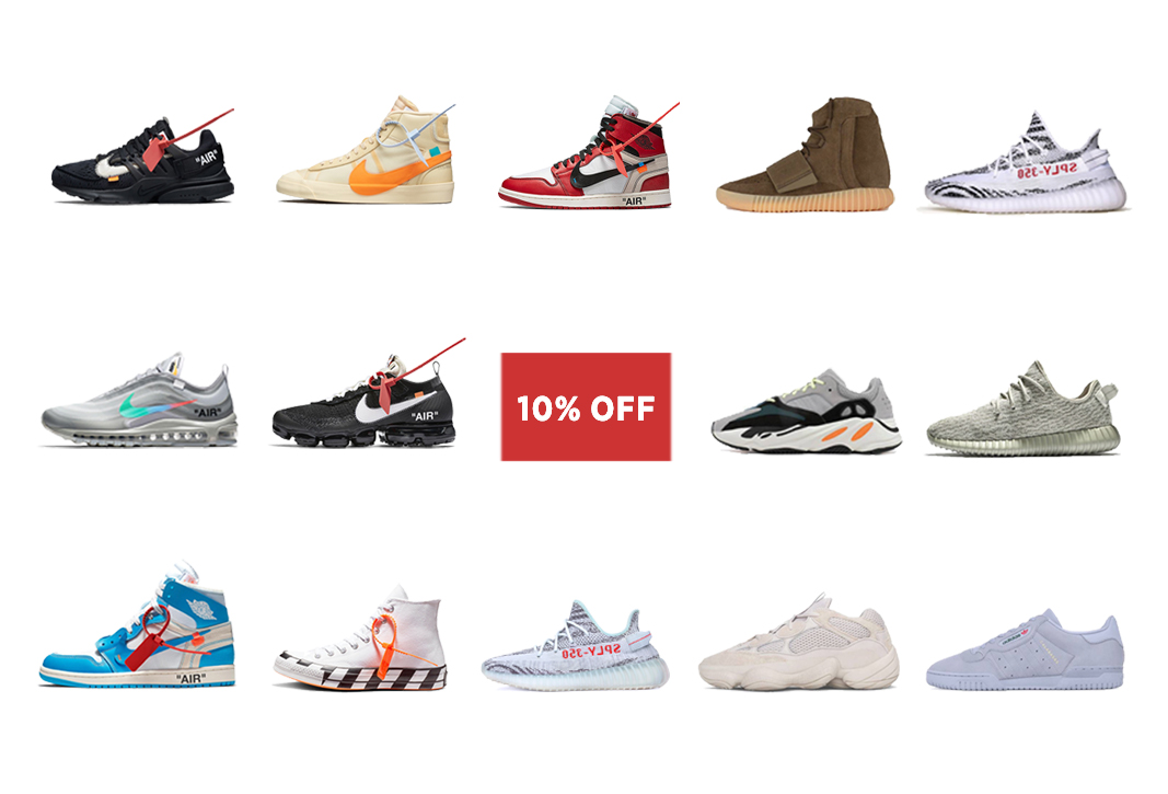 check out fdd97 98242 klekt.in: 💥 Act Fast: 10% OFF on Off-White & Yeezy. 2018 ...