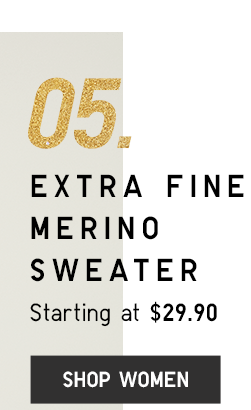 EXTRA FINE MERINO SWEATER - SHOP WOMEN