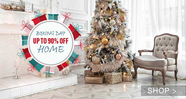 BOXING DAY DEAL: HOME LIQUIDATION