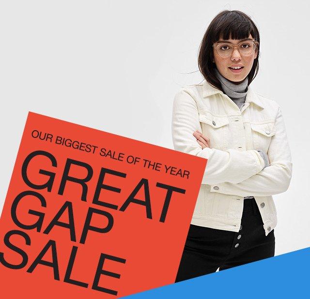 GREAT GAP SALE