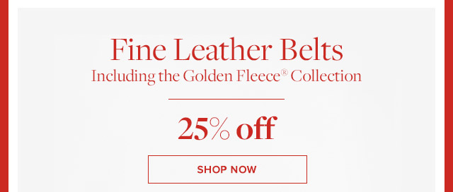 FINE LEATHER BELTS