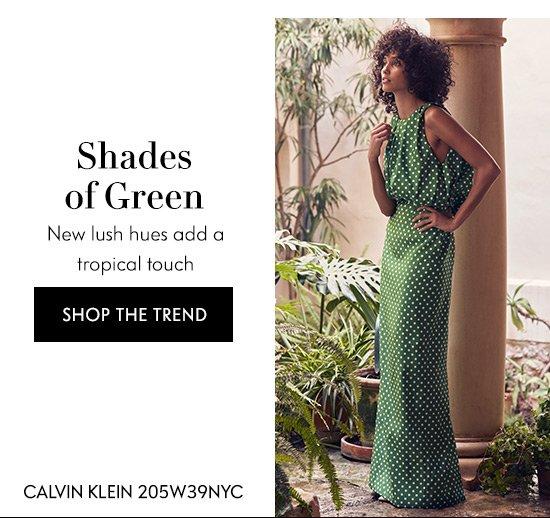 Shop Shades Of Green