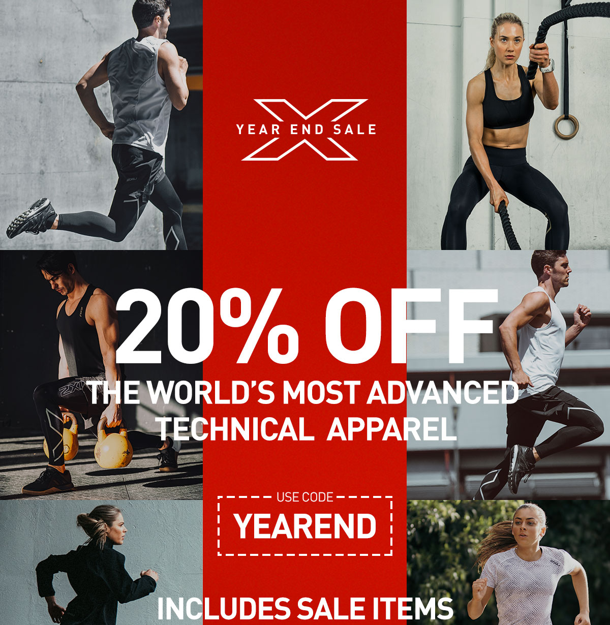 End Year Sale - 20% Off Site-wide