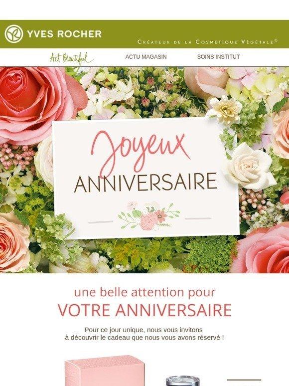 Yves Rocher Fr Joyeux Anniversaire Milled