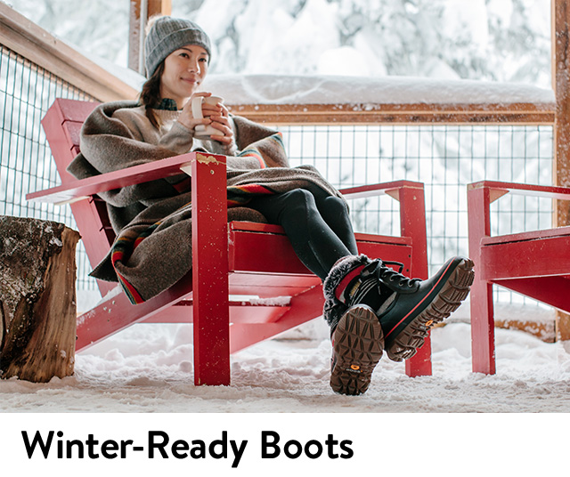 Shop women's boots perfect for winter weather