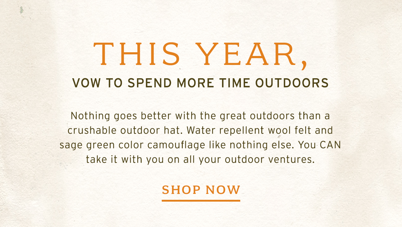 This Year, Vow To Spend More Time Outdoors