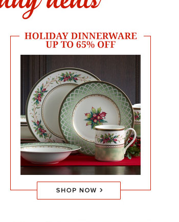 Shop Holiday Dinnerware