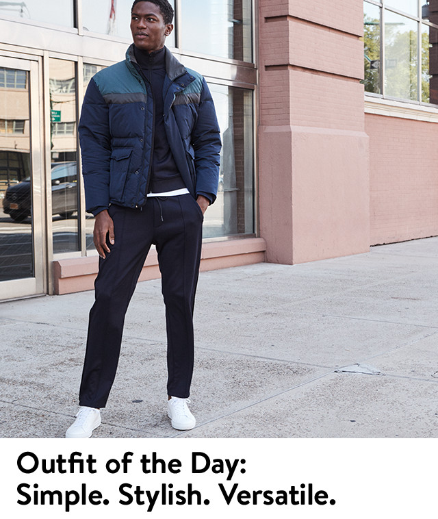 Men's outfit of the day: Simple. Stylish. Versatile.