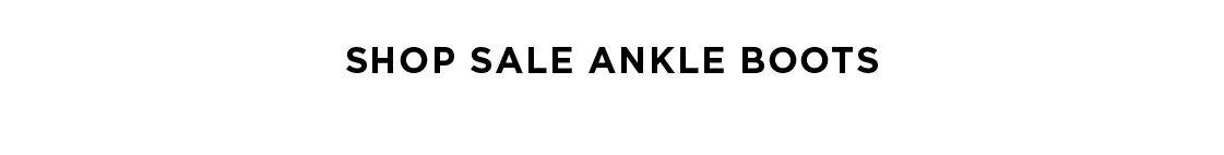 Shop Sale Ankle Boots