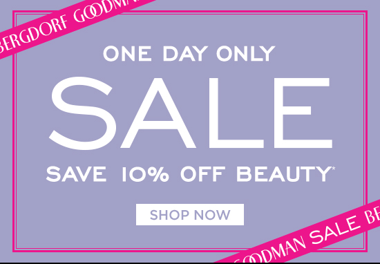 One Day Sale 10% Off Beauty