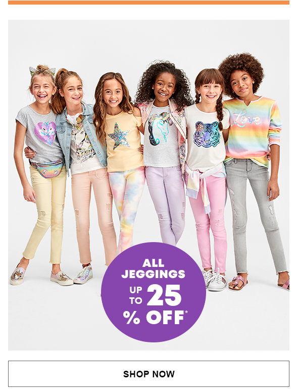 All Jeggings Up to 25% Off