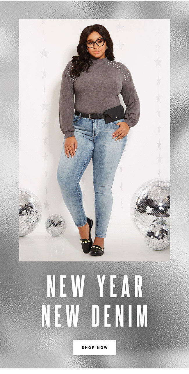 New year, New Denim - Shop Now