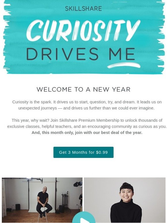 Skillshare: Your Best Year Starts Now | Milled