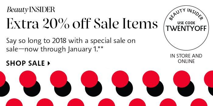 Sale on Sale*
