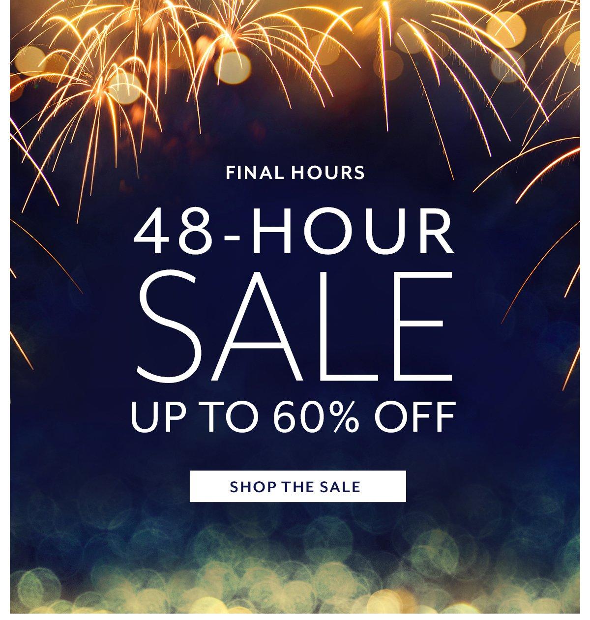 48-Hour Sale
