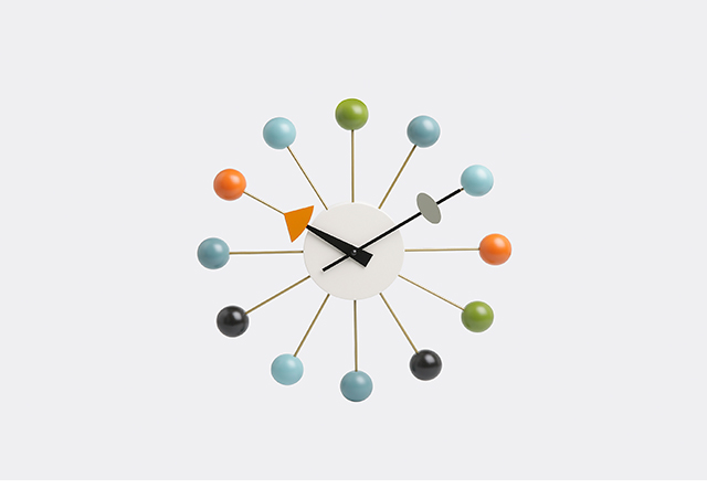 'Ball' clock