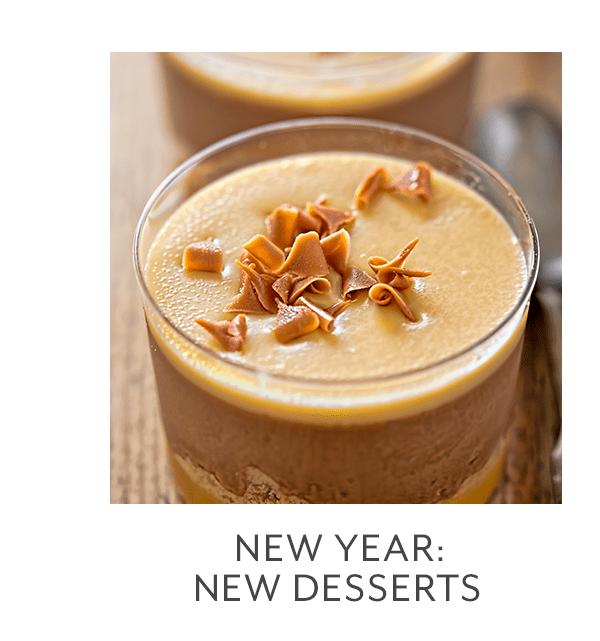 Class - New Year • New Desserts