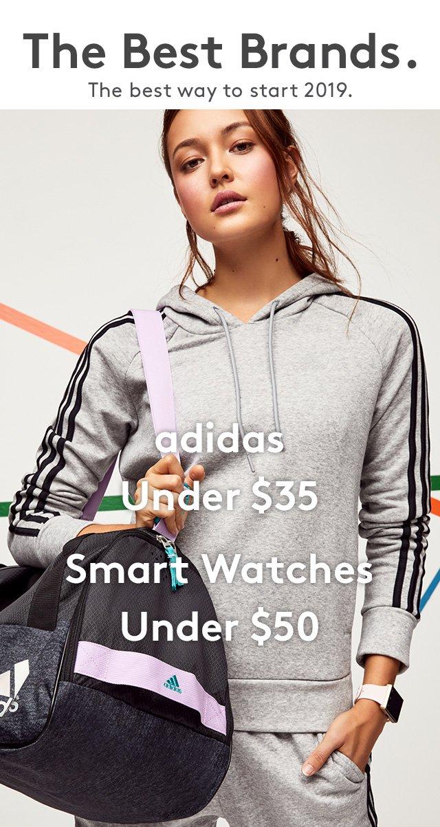 The Best Brands. | The best way to start 2019. Adidas Under $35 | Smart Watches Under $50