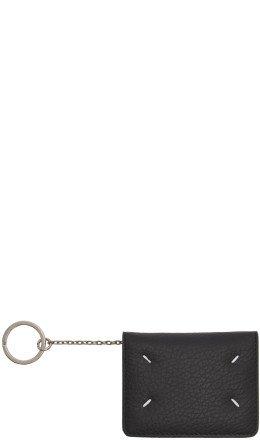 Maison Margiela - Black Bifold Card Holder