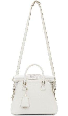 Maison Margiela - White Medium 5AC Bag