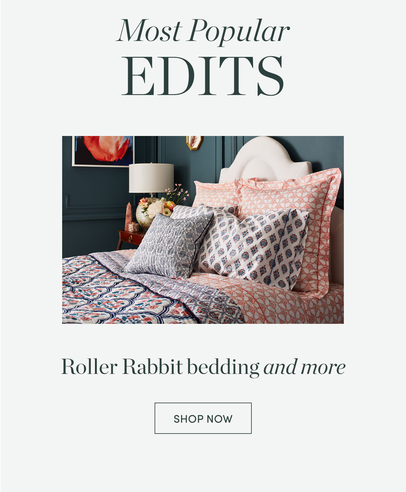 Roller Rabit bedding and more