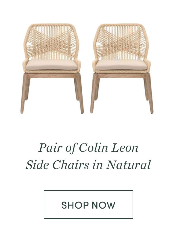 Colin Leon Side Chairs