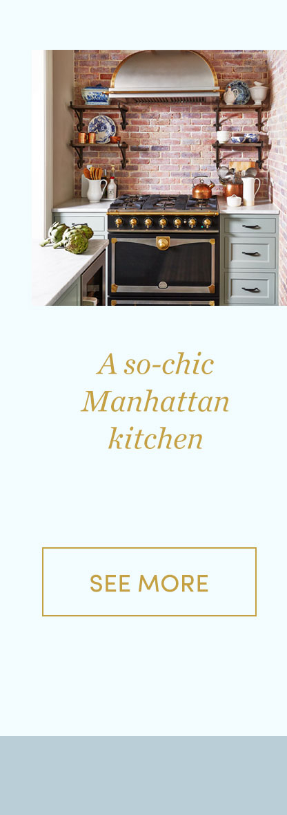 A so-chic Manhattan kitchen