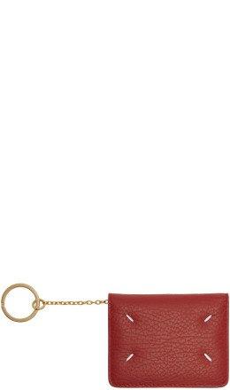 Maison Margiela - Red Bifold Card Holder