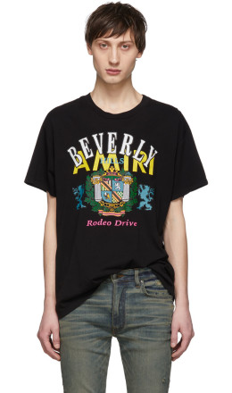 Amiri - Black 'Beverly Hills' T-Shirt