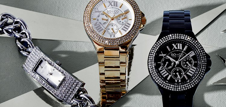 Jewelry-Inspired Watches