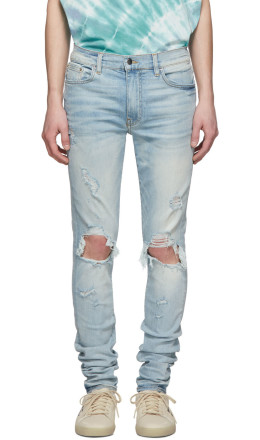 Amiri - Indigo Light Thrasher Jeans