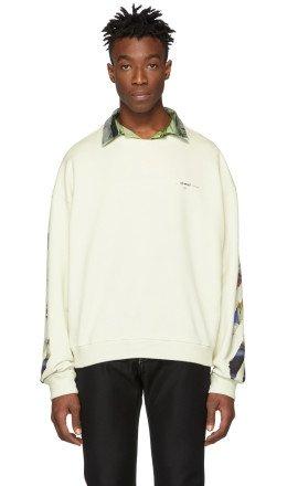 Off-White - Off-White Diag Arrows Sweatshirt