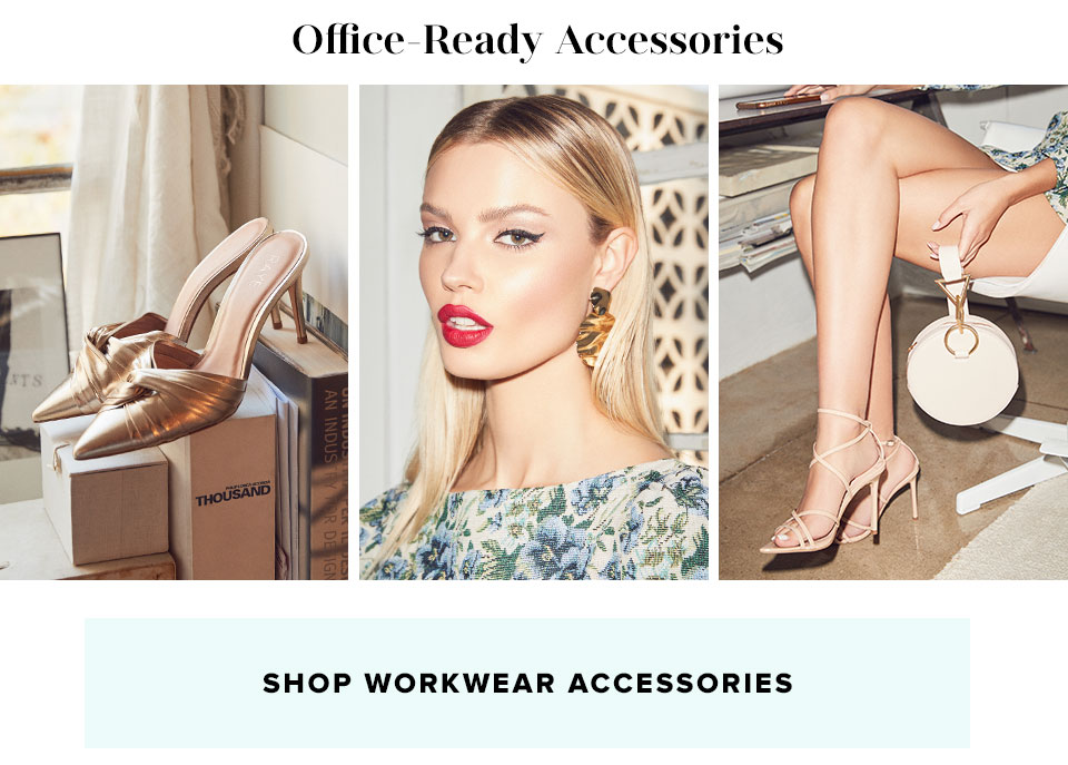 Office-Ready Accessories. Shop workwear Accessories.