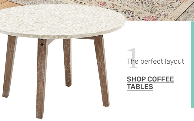 Shop coffee tables.