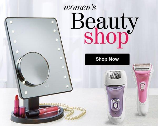 Shop Wome's Beauty Shop!