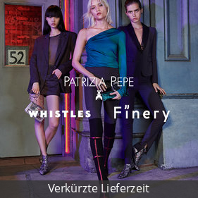 Patrizia Pepe + Whistles + Finery London